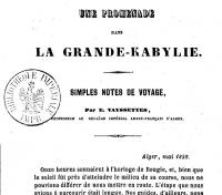 VAYSSETTES-E_Une promenade dans la Grande-Kabylie_1858.jpg