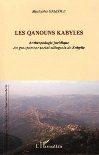 GAHLOUZ_Les Qanouns kabyles_2011_couv.jpg