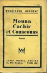 Duchêne_Mouna-Cachir-et-Couscouss_1930-couv.jpg