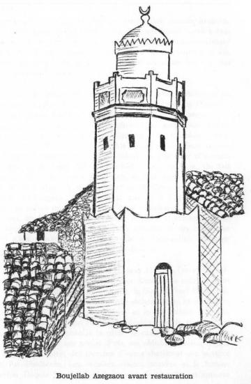 Taguemount-Azouz_Ancienne-Mosquée_Dessin-Henri-Genevois.jpg