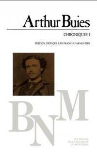 BUIES Arthur_Chroniques 1_1906_couv.jpg