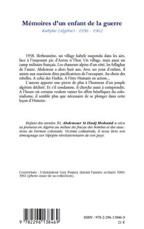 SI HADJ MOHAND Abdenour_Mémoires d'un enfant de la guerre_couv4_2011.jpg